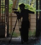 Mareike filming