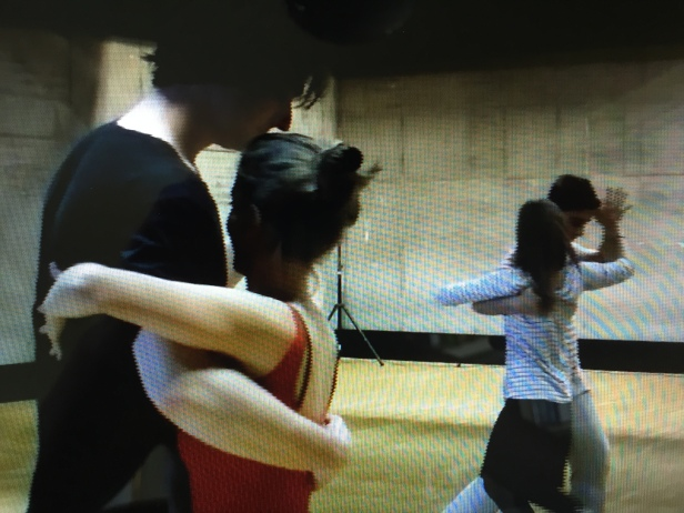 Tango 1972 rehearsal at the CND